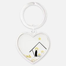 Jesus Is The Reason Heart Keychain