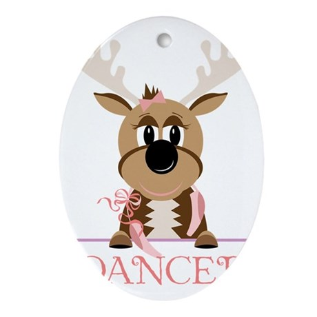 Dancer Oval Ornament