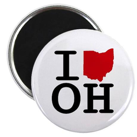 I Heart Ohio Magnet