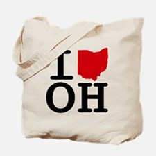 I Heart Ohio Tote Bag