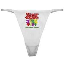 All Over Women Classic Thong