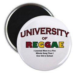 """Reggae Music 2.25"""" Magnet (10 pack)"""