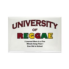 Reggae Music Rectangle Magnet