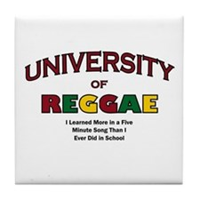 Reggae Music Tile Coaster