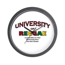 Reggae Music Wall Clock