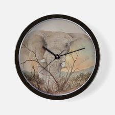 Ele Africa Wall Clock
