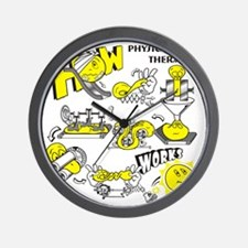 How physical therapy works Wall Clock