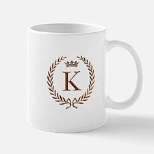 Napoleon initial letter K monogram Mug