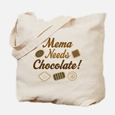 Mema Chocolate Tote Bag