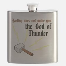 Farting Does Not Make You the God of Thunder Flask