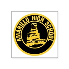 "Amarillo High School Square Sticker 3"" x 3"""