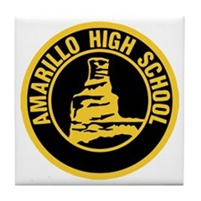 Amarillo High School Tile Coaster