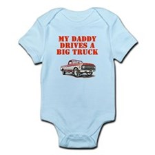 Daddy drives a truck Body Suit