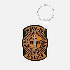 Navajo Police patch Keychains