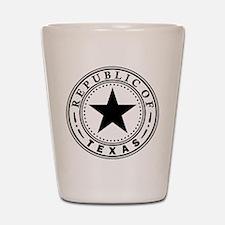 Republic of Texas Shot Glass