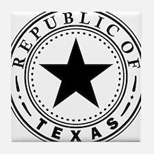 Republic of Texas Tile Coaster