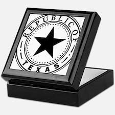 Republic of Texas Keepsake Box