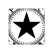 "Republic of Texas Square Sticker 3"" x 3"""