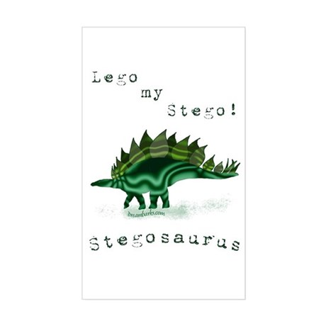 Lego My Stego Rectangle Sticker