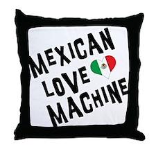 Mexican Love Machine Throw Pillow