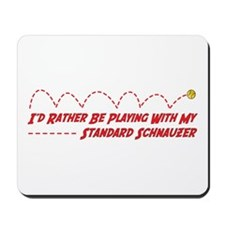 Schnauzer Play Mousepad