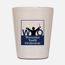 Worcester Youth Orchestras Block Logo Shot Glass