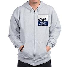 Worcester Youth Orchestras Block Logo Zip Hoodie