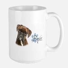 Boxer Puppy Large Mug