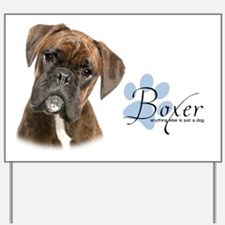 Boxer Puppy Yard Sign