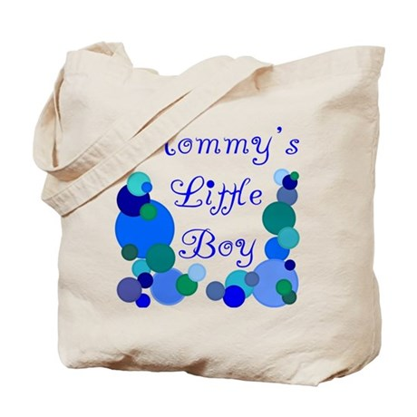 Mommy's Little Boy Tote Bag