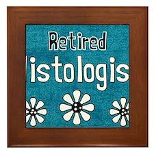 Histologist tote 3 retired Framed Tile