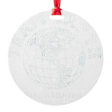 team earth proud member Ornament