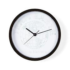 team earth proud member Wall Clock