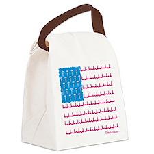 Medical flag Canvas Lunch Bag