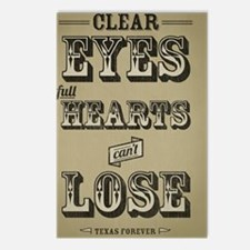 Clear Eyes Full Hearts w/ Postcards (Package of 8)