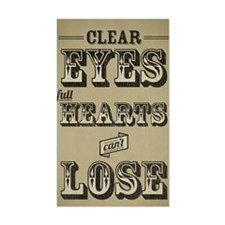 Clear Eyes Full Hearts Tall w/ Decal