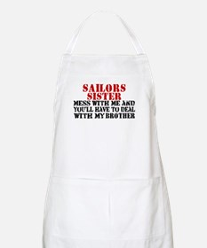 You'll have to deal w/My Brot BBQ Apron