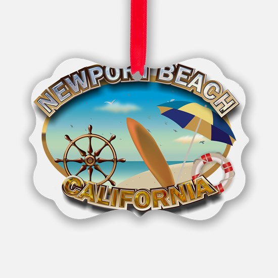 Newport Beach Ornament