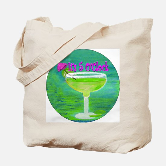 5 OClock Margarita Tote Bag