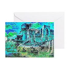Castle Pegasus Greeting Card
