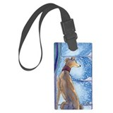 Greyhound dog Luggage Tags