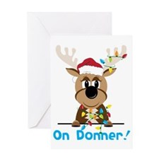 On Donner Greeting Card
