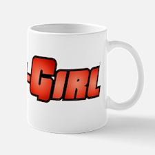 Geek-Girl Logo orange Mug