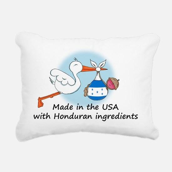 stork baby honduras 2 Rectangular Canvas Pillow