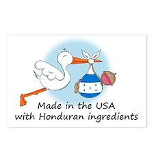 stork baby honduras 2 Postcards (Package of 8)