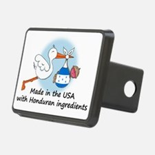 stork baby honduras 2 Hitch Cover
