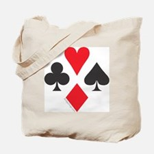 card symbol square Tote Bag