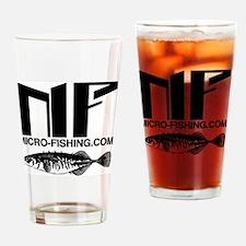 Micro-Fishing.com Drinking Glass