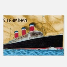SS Leviathan Postcards (Package of 8)