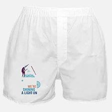 Shining a Light on Brain Injury Boxer Shorts